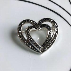 Jewelry - Marcasite pin/brooch